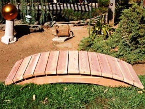 Emerson Redwood jardín puente tamaño – 6 pies: Amazon.es: Jardín