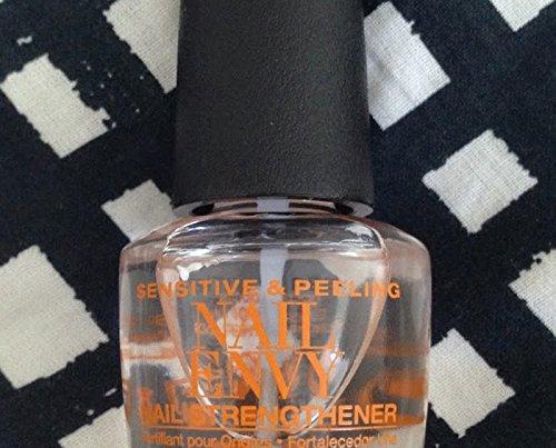 Nail Envy Strengthener (Envy Nail Strengthener For Sensitive & Peeling Nails .5oz 1 Bottle New)