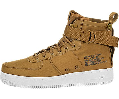 Nike SF Air Force 1 Mid Men's Basketball Shoes 917753-700 (11)