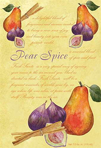 Fresh Scents Scented Sachets - Pear Spice, Lot of 6 by Fresh Scents ()