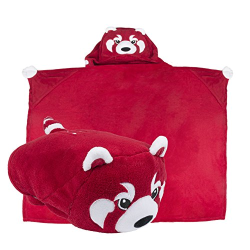 - Comfy Critters Stuffed Animal Blanket – College Mascot, Indiana University 'Hoosiers' – Kids huggable pillow and blanket perfect for the big game, tailgating, pretend play, travel, and much more.