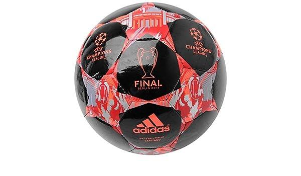 adidas Final de la Champions League – Balón de fútbol, color negro ...