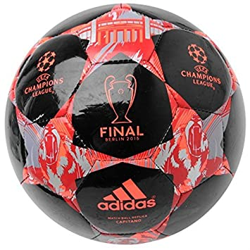 adidas Final de la Champions League - Balón de fútbol, Color Negro ...