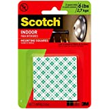 Scotch 599038997258 3M 311DC Heavy Duty 1-Inch Mounting, 48-Squares, 1 Set), White