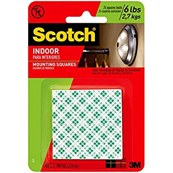 Amazon Com Scotch Indoor Mounting Tape Holds Up To 6