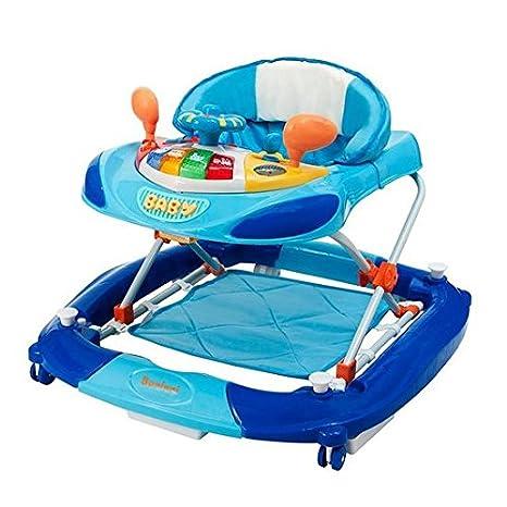 baninni Rosco bn701 - Andador para bebé azul: Amazon.es: Bebé