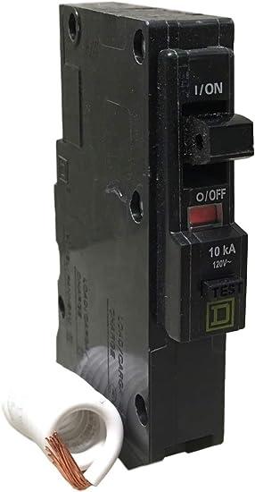120Vac 1P 10Ka 15A Circuit Breaker