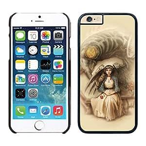 Fashion Custom Designed Cover Case With bioshock infinite 2 For iPhone 6 Black 4.7 TPU inch Phone Case 046