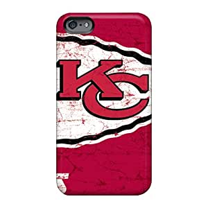 Apple Iphone 6 Plus OyL9460lpeV Customized Lifelike Kansas City Chiefs Image Shockproof Hard Cell-phone Cases -RobAmarook
