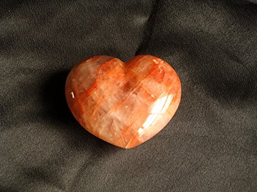 Fire Quartz Large Decorative Heart by Madagascar Minerals