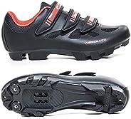 Sapatilha Ciclismo Bike Absolute Nero P/Pedal Clip Mtb (Preto/Vermelha 38)