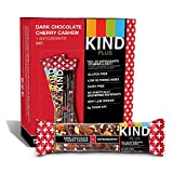 quest bars deals - KIND PLUS, Dark Chocolate Cherry Cashew + Antioxidants, Gluten Free Bars (Pack of 12)