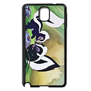 Disney Bambi Character Flower funda Samsung Galaxy Note 3 caja funda del teléfono celular del teléfono celular negro cubierta de la caja funda EEECBCAAB17975