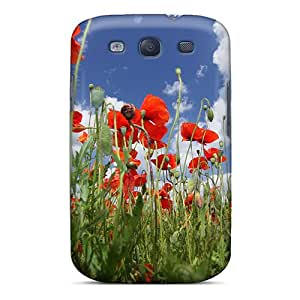 BPHGyXa3269ejihS Case Cover Protector For Galaxy S3 Poppy Case