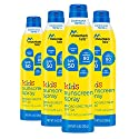 Mountain Falls Kids Sunscreen Continuous Spray, SPF 50 Broad Spectrum UVA/UVB Protection, Compare to Banana Boat, 10 Fluid Ounce (Pack of 4)