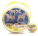Mini Whinnies Breyer Paint Kit 2 Kit Includes 4 Mini Whinnies Model Horses 4 Paint Pots and 1 Paint Brush (1 Kit)