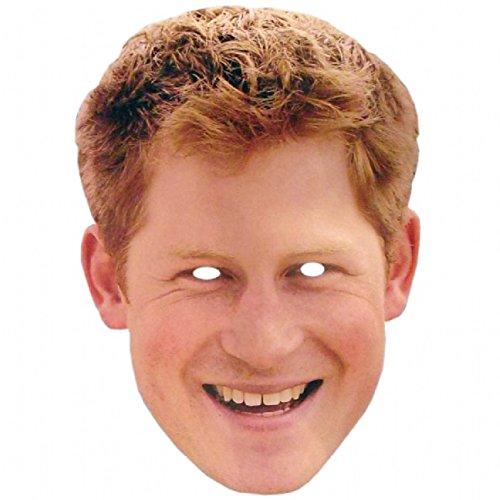 Mka Celebrity Masks - Prince Harry (300 Costume Ideas)