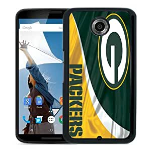 High Quality Green Bay Packers 5 Black Google Nexus 6 Screen Phone Case Beautiful and Luxury Design