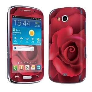 Samsung Galaxy Axiom R830 ( US Cellular ) Vinyl Decal Skin Red Rose - By SkinGuardz