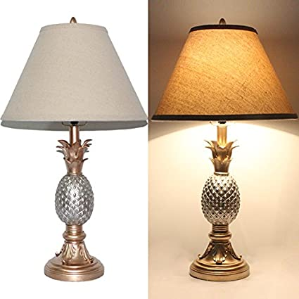 bedroom plus target table source nightstand pin lamp lamps cool pineapple ceramic