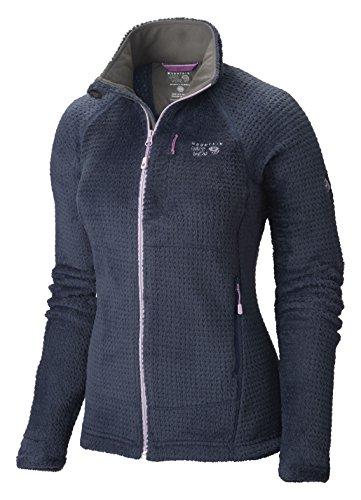 Mountain Hardwear Monkey Woman Grid II Jacket - Women's Zinc/Phantom Purple Large by Mountain Hardwear (Image #1)