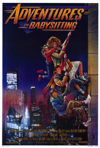 Adventures in Babysitting Poster 27x40 Elisabeth Shue Keith Coogan Maia Brewton ()