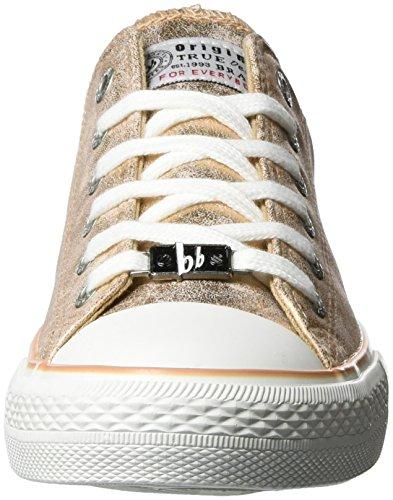 bruno banani Damen 832 572 Sneakers Pink (ROSEGOLD)