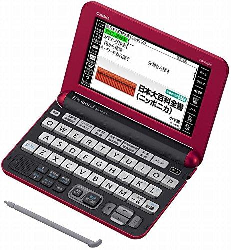 カシオ 電子辞書 エクスワード 生活教養モデル XD-Y6500RD レッド コンテンツ140 B01A86V6I0 レッド レッド