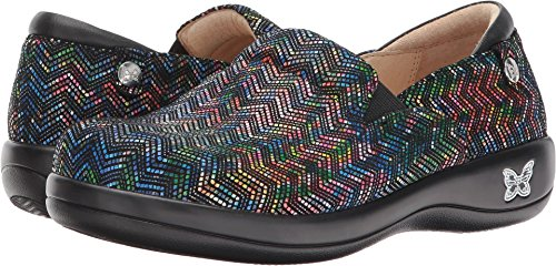 Alegria Womens Keli Exclusive Ric Rack Rainbow