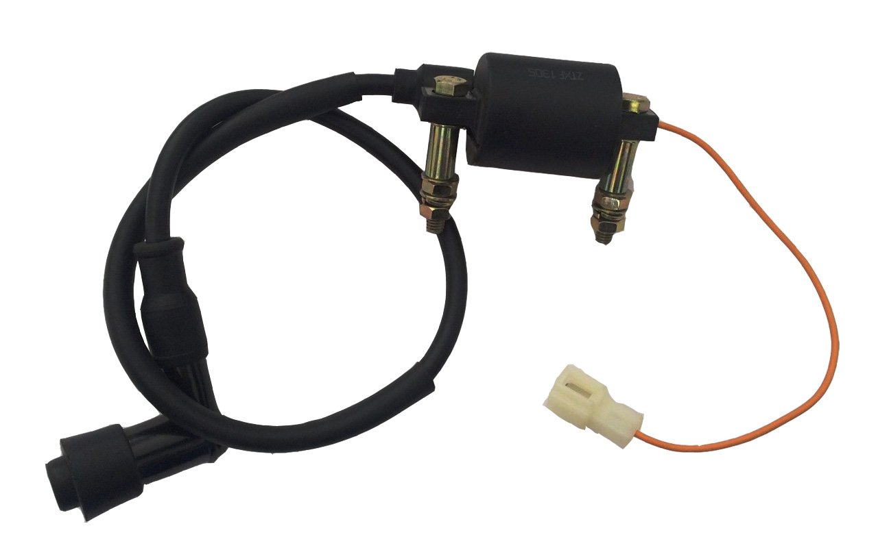 Yamaha Pw80 Pw 80 Ignition Coil Plug Assembly New Co10 1981 Jeep Truck Dash Wiring Automotive