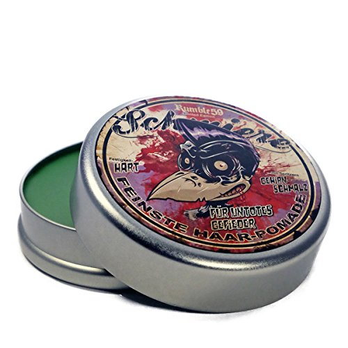 Rumble 59 Schmiere Special Edition Zombie Strong Hold Oil Based Pomade 4.7oz