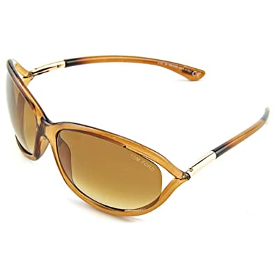 3315ed1c25f9 Amazon.com  Tom Ford Butterfly Sunglasses TF8 Jennifer 602 Rust Brown Gold  FT0008  Shoes