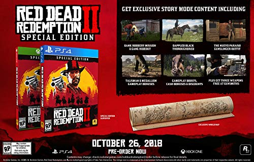 Amazon com: Red Dead Redemption 2: Special Edition - PS4