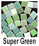 Micromosaics Mosaic Tile Super Green Mix