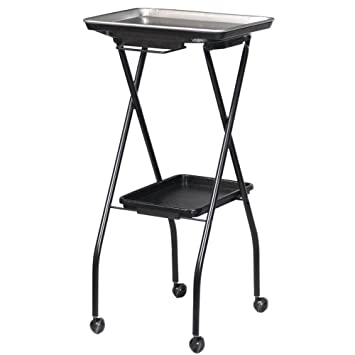 Amazon.com: FT59-A Fold-A-Way Coloring Service Cart w/Stain ...
