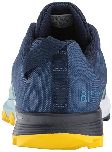 Adidas Udendørs Mænds Kanadia 8.1 Spor Løbesko Kollegialt Flåde / Mysterium Benzin / Eqt Gul sU0d87
