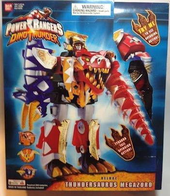 Deluxe Thundersaurus Megazord Power Rangers Dinothunder (Power Rangers Thunder Dino)