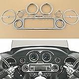 TCMT Chrome Inner Fairing Trim Kit For Harley Electra Street Glide 1996-2013 10 11 12
