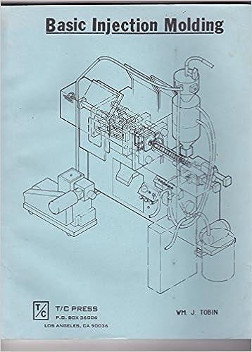 Basic Injection Molding: William J  Tobin: 9780938648116