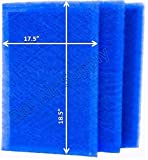 RAYAIR SUPPLY 20x20 Green Homes America Air Cleaner Replacement Filter Pads 20x20 Refills (3 Pack) Blue