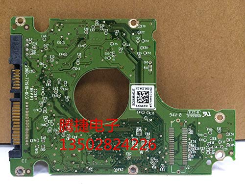 KIMME HDD PCB Logic Board Printed Circuit red//Green Board 2060-771910-003 for WD 2.5 SATA Hard Drive Repair Data Recovery