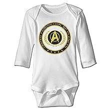 Boss-Seller Star Movie Long-Sleeve Romper Vest For 6-24 Months Newborn Baby White