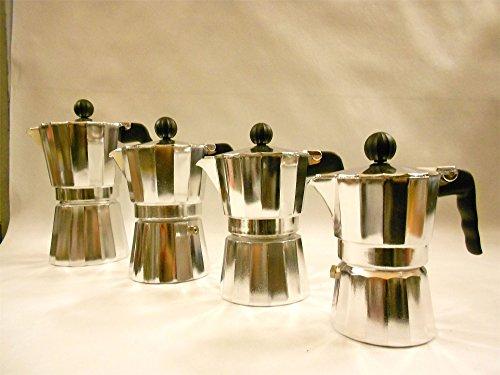 CucinaPro Mok Aluminum 6 Cup Espresso 290-06
