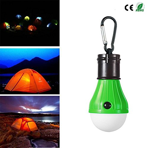 4 Pack LED Camping Lantern Portable Flashlight 3 Modes Lamp for Indoor and Outdoor Decoration Backpacking Camping Fishing Gear Tent Bulb Courtyard Emergency Light Battery Powered by HANGSUNG (Image #3)