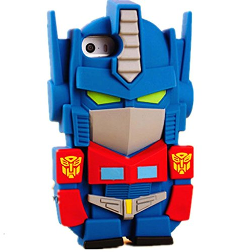 Transformers Optimus Prime 3D Silicone Phone Case for iPhone 5/5s