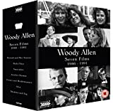 Woody Allen: Seven Films 1986 - 1991 (Hannah and Her Sisters / Radio Days / September / Another Woman / Crimes and Misdemeanors / Alice / Shadows and Fog) [Blu-ray]