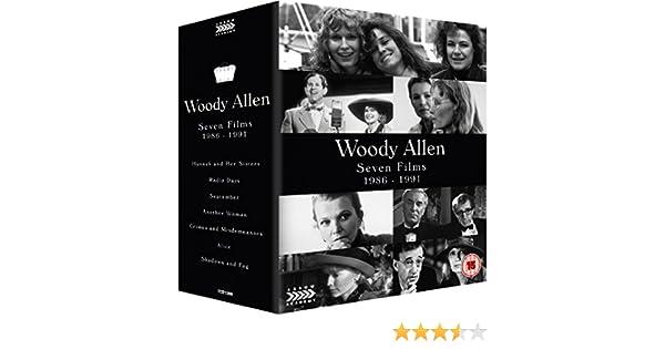 Woody Allen: Seven Films - 1986-1991 Blu-ray Reino Unido: Amazon ...