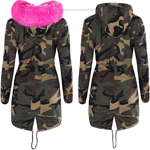 Camouflage jacke gefuttert
