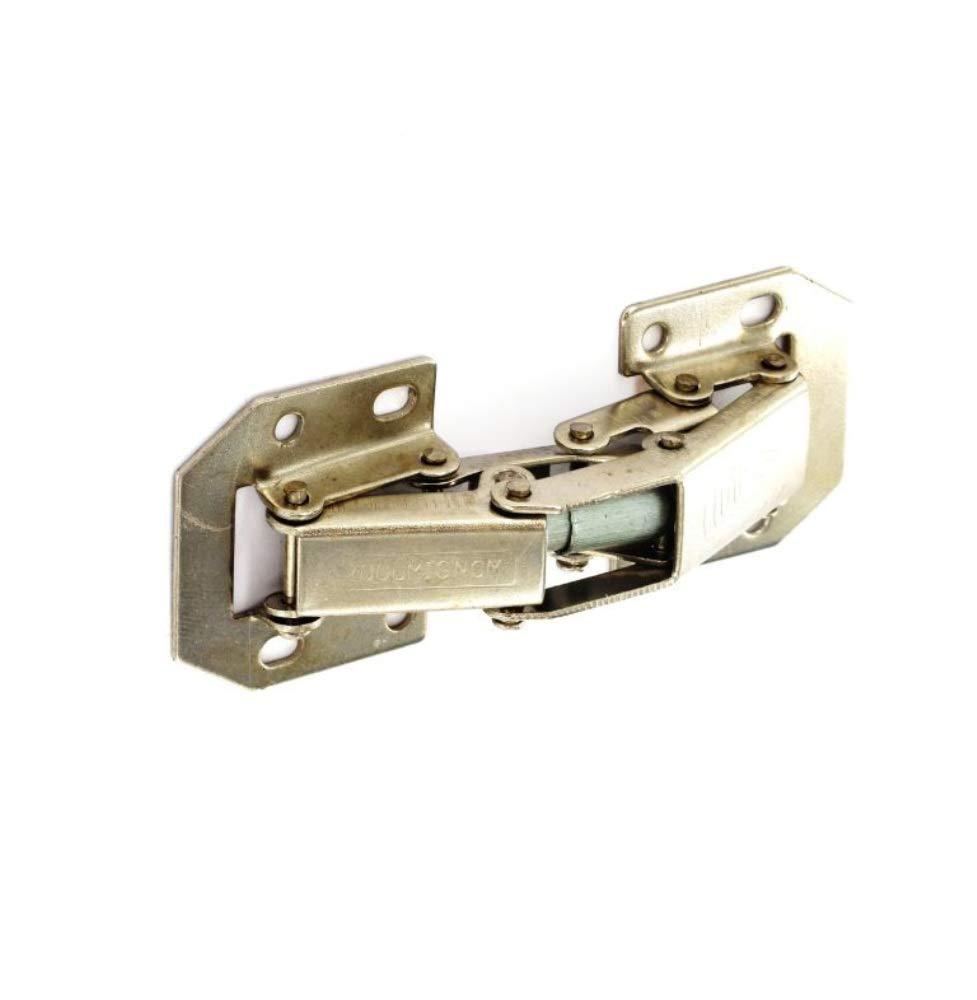 Cupboard or door or most inset doors Hafele Zinc Plated Flush Hinge Mid Grey