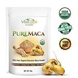 Pure Maca 2lb Value Size | 100% Raw Organic Pure Maca Powder | Non-GMO | by Viva Deo Superfoods For Sale